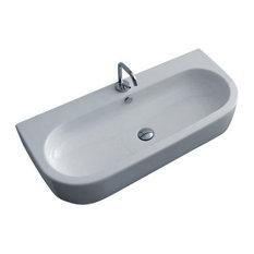 "Flo 3151 Ceramic Sink 35.4"" x 16.5"""