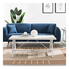 Jacinto Cocktail Table Distressed White