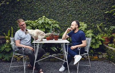Stickybeak of the Week: What Two Clever Guys Did With a Concrete Garden