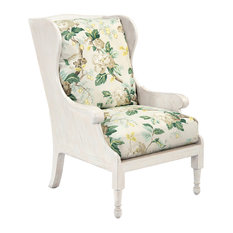 John Richard   John Richard 2058 Fabric Scandinavian Wing Chair   Armchairs  And Accent Chairs