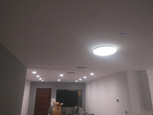 Recessed lighting high hats question