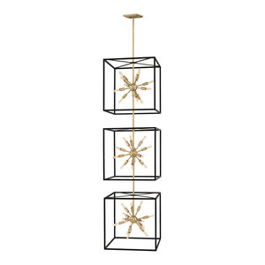 Hinkley Aros Chandelier Extra Large Open Frame Three Tier