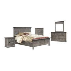 Sunset Trading Solstice Gray 5 Piece Queen Bedroom Set CF-3001-0441-Q-5PC