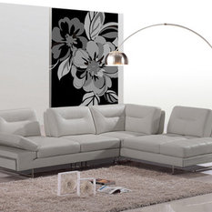 Shallow Depth Sectional Sofa
