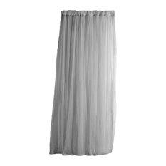 "Whisper Window Curtain, White, 54""x108"""