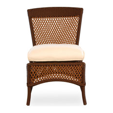 Lloyd Flanders Grand Traverse Armless Dining Chair, Bisque, Distinction Dove