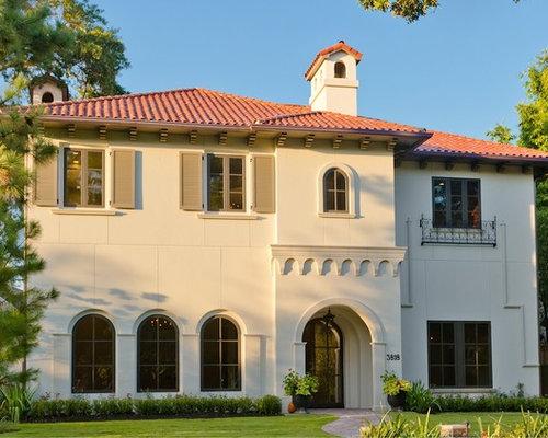 Mediterranean Revival Speculative Home River Oaks