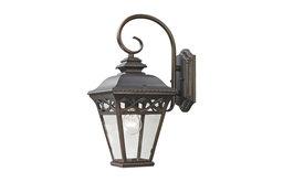 Cornerstone Mendham 1 Light Exterior Coach Lantern, Hazelnut Bronze