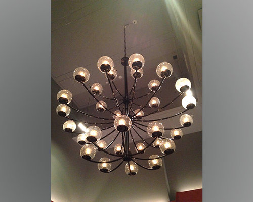 1940s chandelier for the fourth restaurant aloadofball Image collections