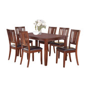 7 Pc Formal Dining Room Set-Table And 6 Dining Room Chairs