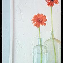Deconstructed flower bouquet