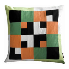 Multi-colored Decorative Throw Pillows 19.2'' x 19.2''