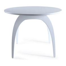 Posh Pollen Beckett Round Table Glossy White