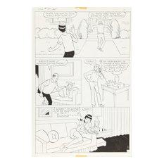 "Samm ""Jughead"" Schwartz, Jughead ""Strings Attached"" #197 pg 4, Ink Drawing"