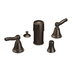 Moen   Moen TS5285ORB Rothbury 2 Handle Bidet Faucet Trim Kit In Oil Rub  Bronze