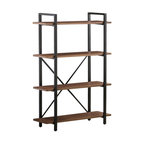 Coaster Industrial Style Bookcase With 4-Shelf