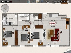 Aide - Aménager salon/cuisine carré