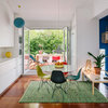 Houzz Tour: Madrid Apartment Celebrates Indoor-Outdoor Living