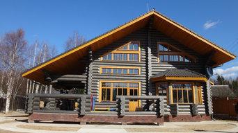 Деревянные окна, откосы, наличники и подоконники из сосны.