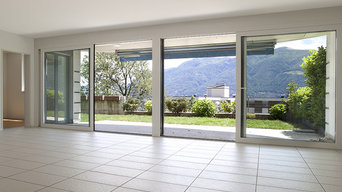 Buildings with uPVC windows