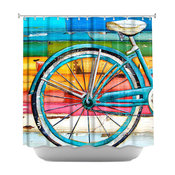 Shower Curtain Unique from DiaNoche Designs - Life Cycles