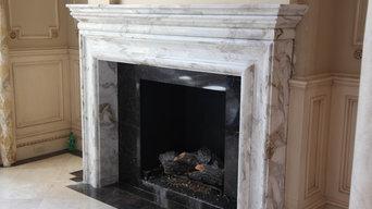 Custom Fireplace Mantle & Surround