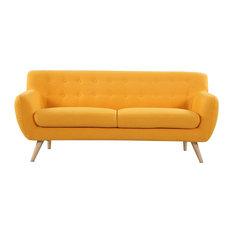divano roma furniture midcentury modern sofa seat yellow sofas