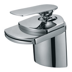 Mondria Bathroom Sink Faucet, 1-Hole Setup, Polished Chrome