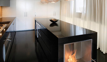 Fireplaces in Unexpected Places
