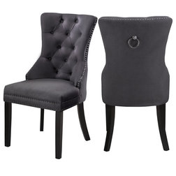 Transitional Dining Chairs by Meridian Furniture