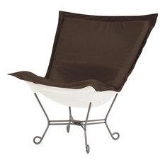 Puff Chair HOWARD ELLIOTT Seascape Chocolate
