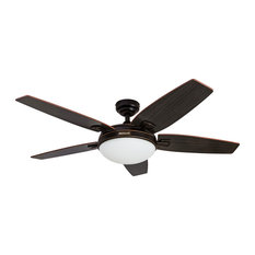 """48"""" Honeywell Carmel Indoor Ceiling Fan with Remote Control, Oil Rubbed Bronze"""