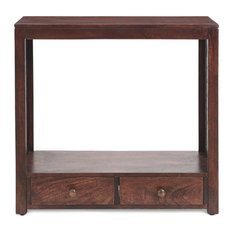 Carrie Traditional Mango Wood Console Table