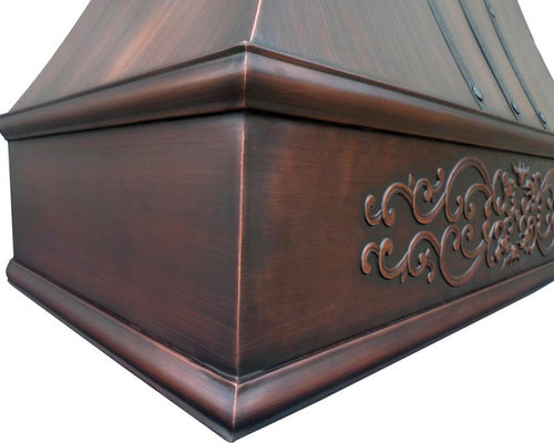 London Copper Range Hood - Range Hoods And Vents