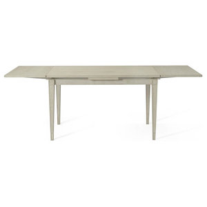 Gathering Refectory Dining Table in Weathered White