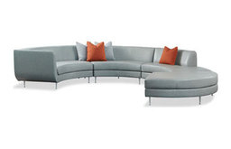 Modern sectionals and sofas rentals for staging