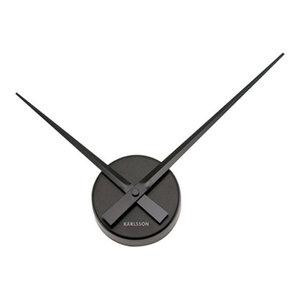 KARLSSON Wall Clock Mini Little Big Time, Black