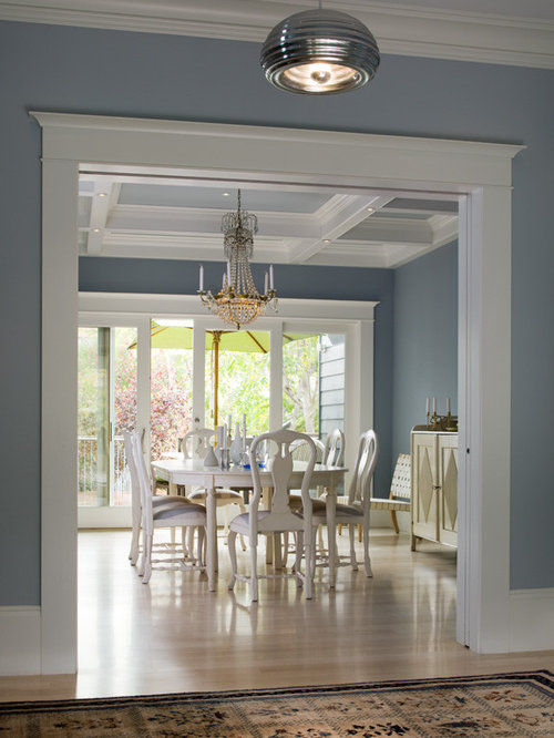 light blue dining room houzz