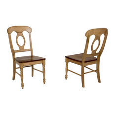 Brook Napoleon Dining Chairs, Set of 2