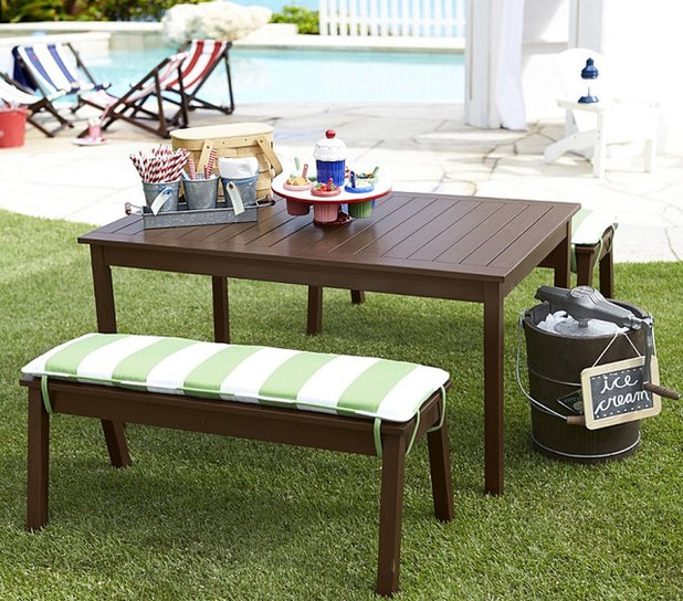 Modern Patio Furniture And Outdoor Furniture by Pottery Barn Kids & Guest Picks: Kid-Friendly Outdoor Seats and Tables