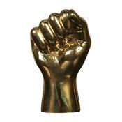 The Solidarity Fist Brass Sculpture