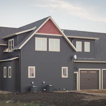 Western Minnesota Two Story Custom Home #833