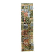 "Oriental Rug Arijana Design 12'3""x3'1"" Hand Knotted Carpet"