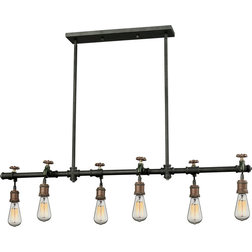 Industrial Chandeliers by House Lighting Design