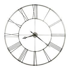 contemporary wall clocks houzz - Designer Large Wall Clocks