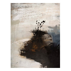"""Contemporary Hand Painted Canvas Art, Large-Apart 1"""""""