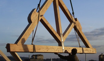 King Truss , made for New Build House, made by Chris at Greenhill JoInery