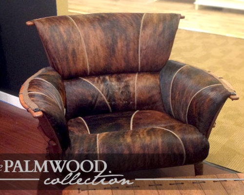 The Palmwood Collection of Furniture - Living Room Chairs - Rustic Living Room Furniture