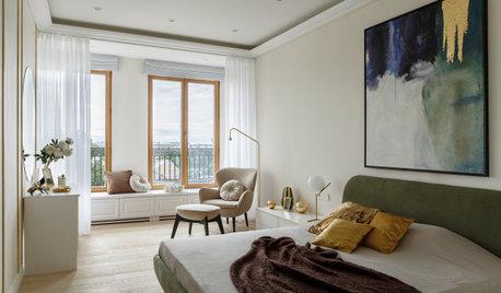 Houzz тур: Семейная квартира в стиле контемпорари