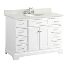 inch white bathroom vanities  houzz, Bathroom decor